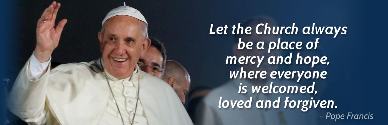 Abbeylara Parish - Pope Francis